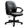 Global Enterprise Series Low-Back Swivel/Tilt Chair, Polypropylene Fabric, Gray