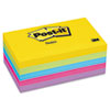 Post-it Notes Ultra Color Notes, 3 x 5, Five Colors, 5 100-Sheet Pads/Pack