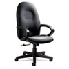 Global Enterprise Series High-Back Swivel/Tilt Chair, Polypropylene Fabric, Gray