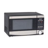 Avanti .7 Cu. Ft. Capacity Microwave Oven, 700 Watts, Stainless Steel and Black