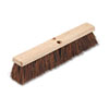 "Floor Brush Head, 3 1/4"" Natural Palmyra Fiber, 18"