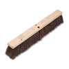"Floor Brush Head, 3 1/4"" Natural Palmyra Fiber, 24"
