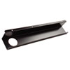 Split-Level Training Table Cable Tray, Metal, 21 1/2w x 3d, Black, 2/Pack