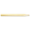 Threaded End Broom Handle, 15/16&quot; x 60&quot;, Natural Wood