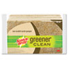 Scotch-Brite Greener Clean Non-Scratch Scrub Sponge, 4 1/2 x 2 4/5, 3/Pack