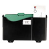 Officemate Add-on Wall File, Letter/Legal, 1 Pocket, 9 3/4 x 15 3/4, Black, 1/EA