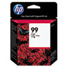 C9369WN (HP 99) Ink Cartridge, 130 Page-Yield, Photo