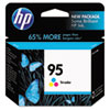 C8766WN (HP 95) Ink Cartridge, 330 Page-Yield, Tri-Color
