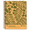 Earthwise by Oxford Recycled Paper Notebook, College/Med Rule, 8-7/8 x 11, White, 100 Sheets