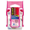 Scotch 3850 Heavy Duty Packaging Tape in Pink Dispenser, with  2