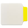 Post-it Tabs Durable Note Tabs, 2 3/4 x 3 3/8, Yellow, 10/PK
