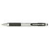 F-301 Ballpoint Retractable Water-Resistant Pen, Black Ink, Fine
