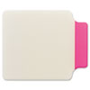 Post-it Tabs Durable Note Tabs, 2 3/4 x 3 3/8, Pink, 10/PK