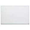 Dry Erase Board, Melamine, 36 x 24, Satin-Finished Aluminum Frame