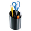 Officemate Recycled Big Pencil Cup, 4 1/4 x 4 1/2 x 5 3/4, Black