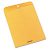 Quality Park Clasp Envelope, Side Seam, 10 x 13, 28lb, Brown Kraft, 250/Carton