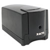 X-ACTO Deluxe Heavy-Duty Desktop Electric Pencil Sharpener, Black/Gray