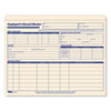 Employee Record Master File Jacket, 9 1/2 x 11 3/4, 10 Point Manila, 20/Pack
