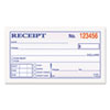 Money and Rent Receipt Books, 2-3/4 x 4 7/8, 2-Part Carbonless, 50 Sets/Book