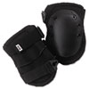 AltaLok Knee Pads, Fastener Closure, Neoprene/Nylon, Rubber, Black