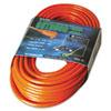 CCI Vinyl Extension Cord, 100ft, AWG 16/3, SJTW-A, Orange