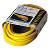 CCI Polar/Solar Indoor-Outdoor Extension Cord With Lighted End, 25ft, Yellow