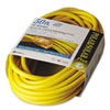 CCI Polar/Solar Indoor-Outdoor Extension Cord With Lighted End, 50ft, Yellow