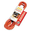 CCI Vinyl Outdoor Extension Cord, 10ft, 13 Amp, Orange