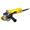 "D28110 Small Angle Grinder, 4 1/2"" Wheel, 1.1hp, 11, 000rpm"