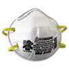 N95 Particulate Respirator, Half Facepiece, Small, Fixed Strap