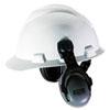 MSA HPE Cap-Mounted Earmuffs, 27NRR, Gray/Black
