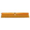 No. 19 Floor Brush, w/M60 Handle, Plastic Fill, Yellow, 24w x 60h