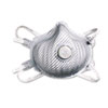 Moldex N99 Adjustable Single-Use Particulate Respirator, One Size Fits Most, 10/Box