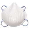 Moldex 2200N95 Series Particulate Respirator, Half-Face Mask, Medium/Large, 20/Box