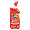 Toilet Bowl Cleaner w/Bleach, Neutral Scent, Gel, 24oz Bottle