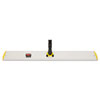 Rubbermaid Commercial HYGEN Q580YEL HYGEN Quick Connect Single-Sided Frame, 36 1/10w x 3 1/2d, Yellow RCPQ580YEL RCP Q580YEL