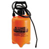 Acid-Resistant Sprayer Wand w/Nozzle, 2gal, Polyethylene, Orange/Black