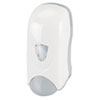 Foam-eeze Bulk Foam Soap Dispenser w/Refillable Bottle, 1000mL, White/Gray