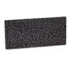 3M Doodlebug Hi-Productivity Stripping Pad, 4 5/8 x 10, Black, 40/Carton