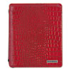Mead Cambridge Deluxe iPad Case, Simulated Leather, 9-3/4 x 4-3/10 x 11-1/8, Red