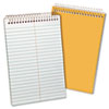 Envirotec Recycled Steno Book, Gregg Rule, 6 x 9, White, 80 Sheets