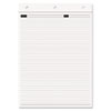 Magna Pad Note Pad Refill, Narrow, 8 1/2 x 12, White, 70 Sheets, 2/Pack