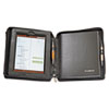 Deluxe iPad Case, Simulated Leather, 9-3/4 x 4-3/10 x 11-1/8, Black