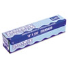 Standard Aluminum Foil Roll, 12&quot; x 500ft, 14 Micron Thickness, Silver