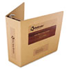 "Select Zero Waste Chipboard Binder, 3"" Capacity, 8-1/2 x 11, Brown Kraft"
