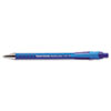 Paper Mate FlexGrip Ultra Recycled Ballpoint Retractable Pen, Blue Ink, Medium, Dozen
