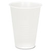 Plastic Cold Cups, 7oz, Translucent