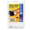 Print or Write Removable Multi-Use Labels, 1/2 x 3/4, White, 1008/Pack