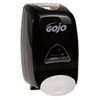 GOJO FMX-12 Soap Dispenser, 1250mL, 6 1/8w x 5 1/8d x 10 1/2h, Black