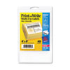 Print or Write Removable Multi-Use Labels, 4 x 6, White, 40/Pack